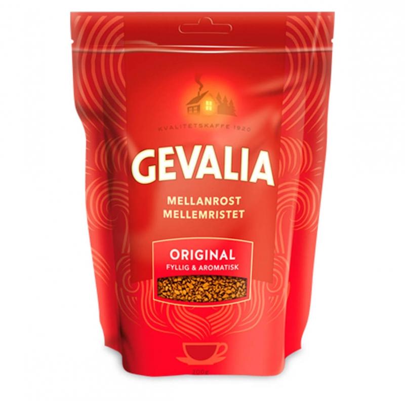 Кофе Gevalia Original растворимый в упаковке с зиплоком 200 г
