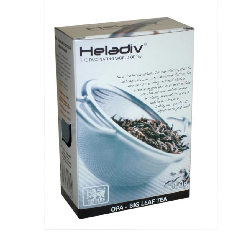 Чай черный Heladiv Opa крупнолистовой 100 г