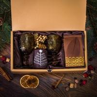 Подарочный набор в золотистой упаковке Созвездие
