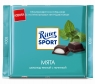 Шоколад Ritter Sport темный с мятной начинкой 100 г