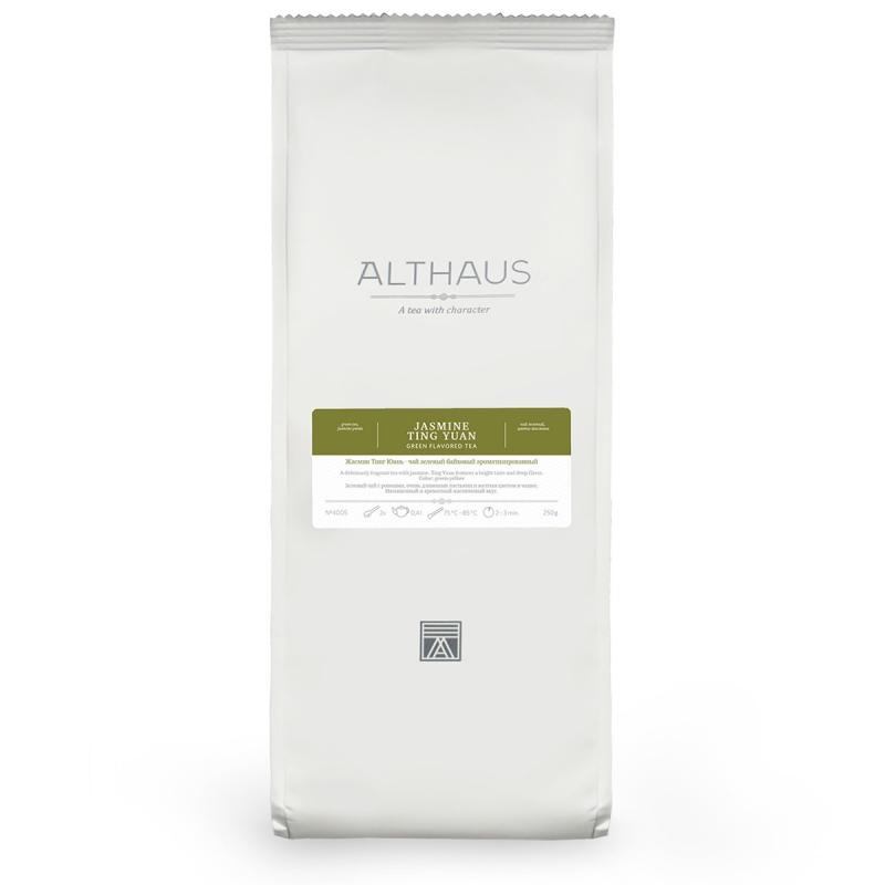 Чай Althaus Jasmine Ting Yuan зелёный листовой 250 гр