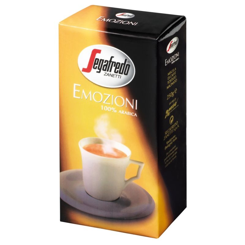 Кофе Segafredo Emozioni молотый 250 гр
