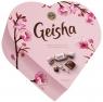 Шоколадные конфеты Fazer Geisha Сердце шоколадные с начинкой из орехового пралине 225 г