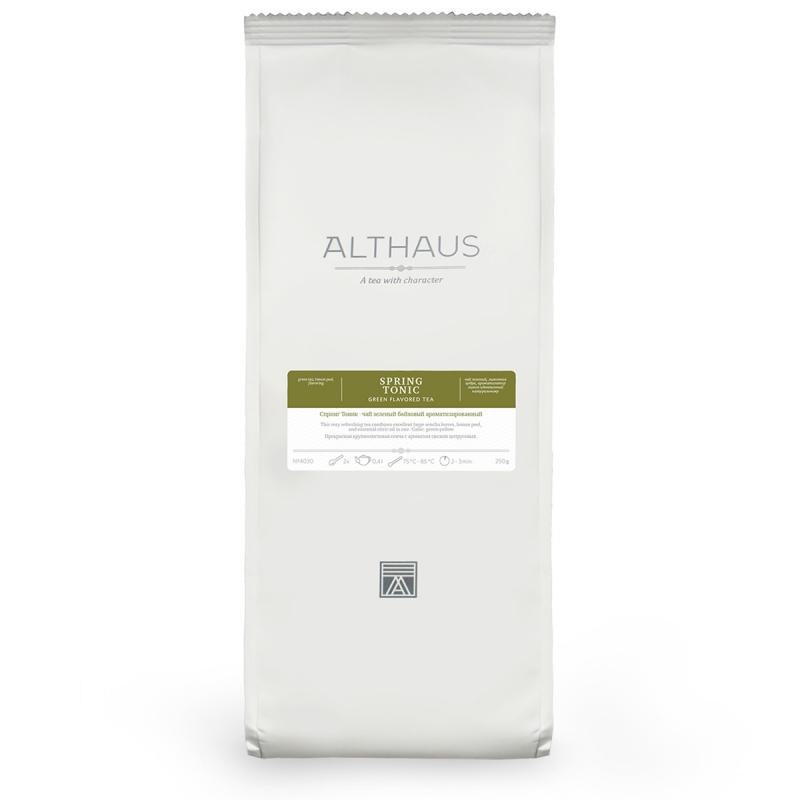 Чай Althaus Spring Tonic зелёный листовой 250 гр