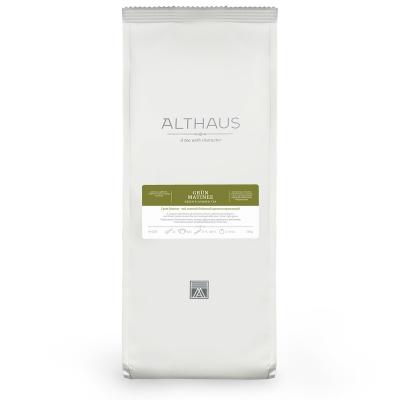 Чай Althaus Grun Matinee зелёный листовой 250 гр