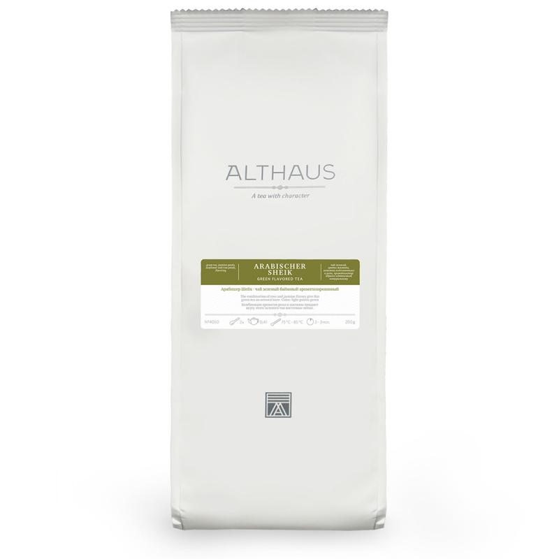 Чай Althaus Arabischer Sheik зелёный листовой 200 гр