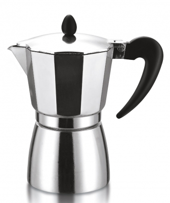 Гейзерная кофеварка Italco Soft на 6 порций, 240 мл (аналог Bialetti Dama)