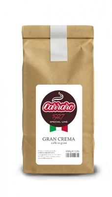 Кофе Carraro Gran Crema в зёрнах 1 кг
