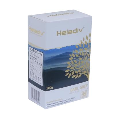 Чай черный Heladiv Earl Grey с бергамотом 100 г
