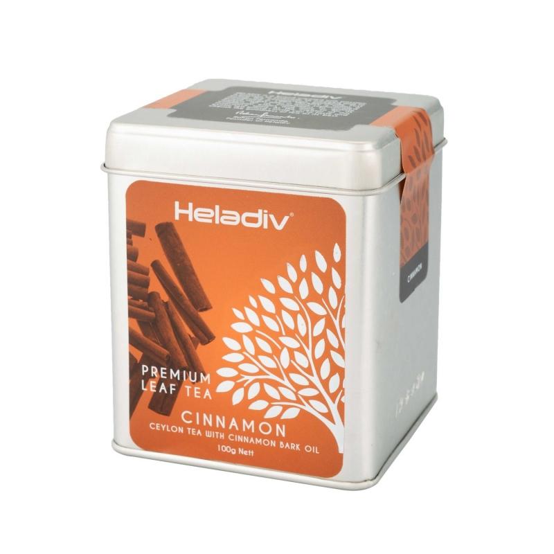 Чай черный Heladiv Cinnamon с корицей 100 г