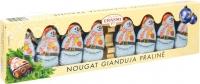 Шоколадные фигурки CARSTENS Снеговики с начинкой нуга 100 г