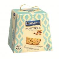 Панеттоне Battistero с изюмом и цукатами на сливочном масле 900 г