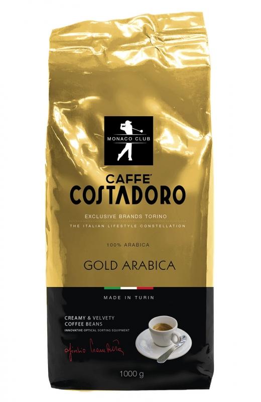 Кофе Costadoro Gold Arabica в зёрнах 1 кг