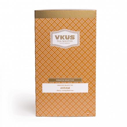 Чай VKUS Черный Ассам 20 шт х 2,25 г