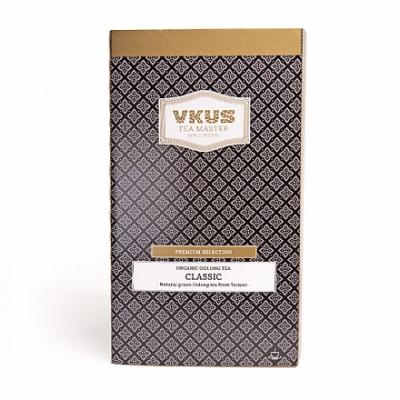 Чай VKUS Классический Зелёный Улун 20 шт х 1,75 г