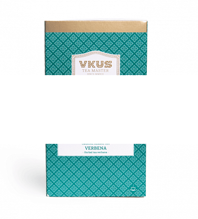 Чай VKUS Травяной Лимонная Вербена 20 шт х 2 г