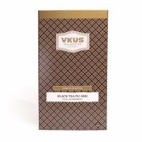 Чай VKUS Черный Пуэр 20шт х 2 г