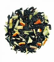 Чай VKUS Черный Сладкий Апельсин 140 г