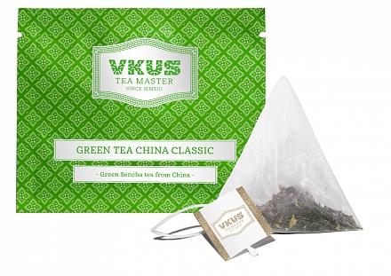 Чай VKUS Зелёный Классическая Сенча 50 шт х 1,75 г