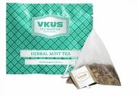 Чай VKUS Травяной Мятный 50шт х 2 г