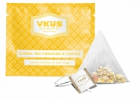 Чай VKUS Травяной Ромашка с Апельсином 50шт х 2 г
