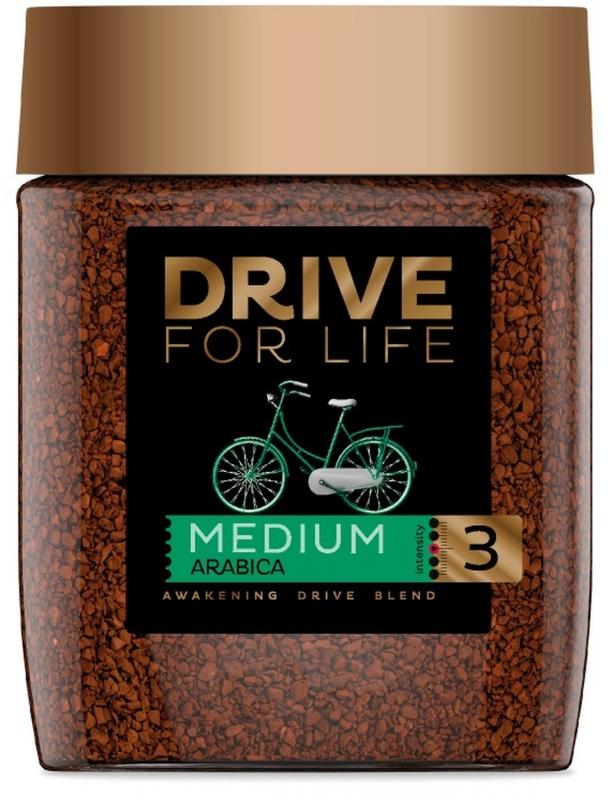 Кофе Drive For Life Medium №3 сублимированный 100 г