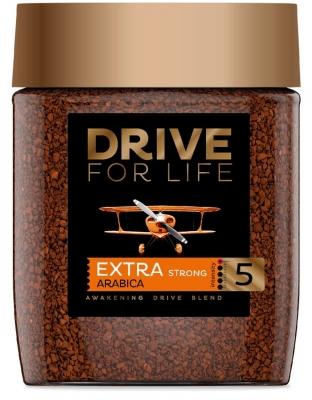 Кофе Drive For Life Extra Strong №5 сублимированный 100 г