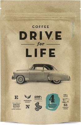 Кофе Drive For Life Strong №4 сублимированный 150 г