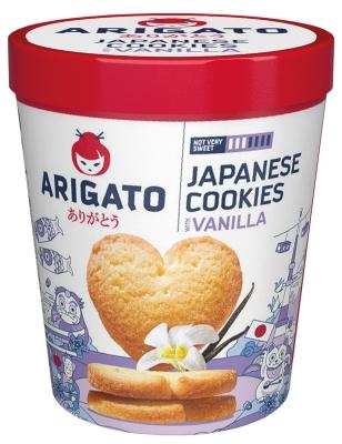 Печенье Arigato сдобное ванильное