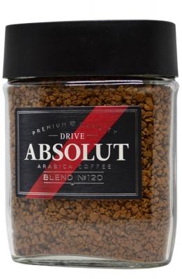Кофе Absolut Drive Blend №120 сублимированный 95 г