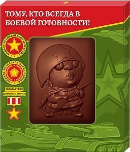 Шоколадное изделие Ацтек Панно Воин 55 г