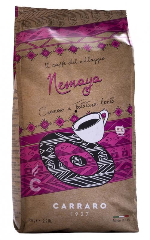 Кофе в зёрнах Carraro Nemaya 1 кг