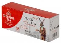 Чай чёрный пакетированый Steuarts Tea Black Tea Royal 25шт