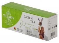Чай зелёный пакетированый Steuarts Tea Green Tea Royal 25шт