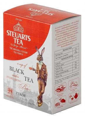 Чай чёрный листовой Steuarts Tea Black Tea Pekoe 100 г