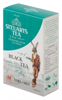 Чай чёрный с бергамотом листовой Steuarts Tea Black Tea Earl Grey 250 г