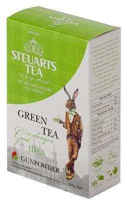Чай зелёный листовой Steuarts Tea Green Tea Gunpowder 200 г