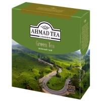Ахмад Зеленый чай в пакетиках 100 штук