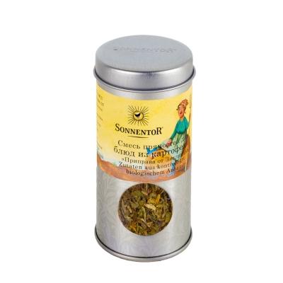 Смесь пряностей Sonnentor для блюд из картофеля Приправа от Зиглинды 18 г