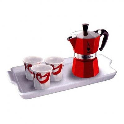 Набор для кофе Bialetti SET Moka Red Passion
