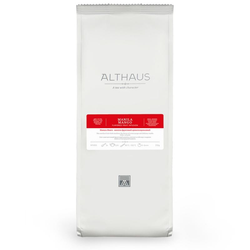 Чай Althaus Manila Mango фруктовый листовой 250 гр