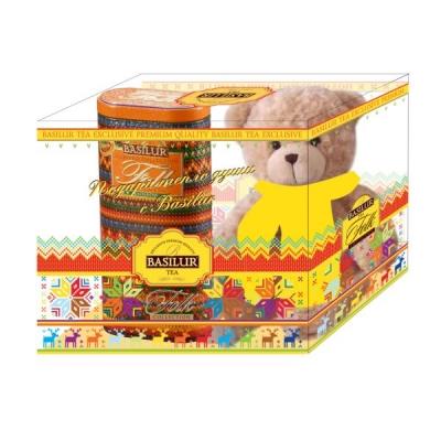 Подарочный набор Basilur Фолк Радость с игрушкой Радуга