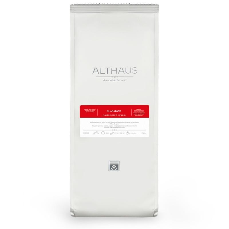Чай Althaus Guanabana фруктовый листовой 250 гр