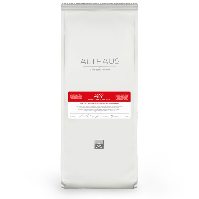 Чай Althaus Coco White фруктовый листовой 250 гр