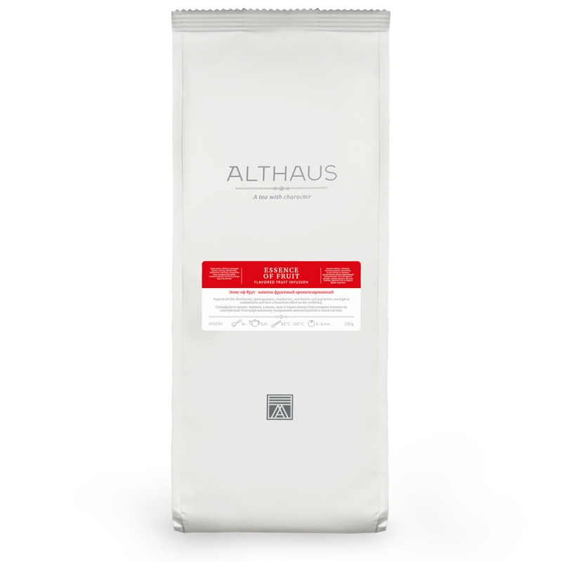 Чай Althaus Essence of Fruits фруктовый листовой 250 гр