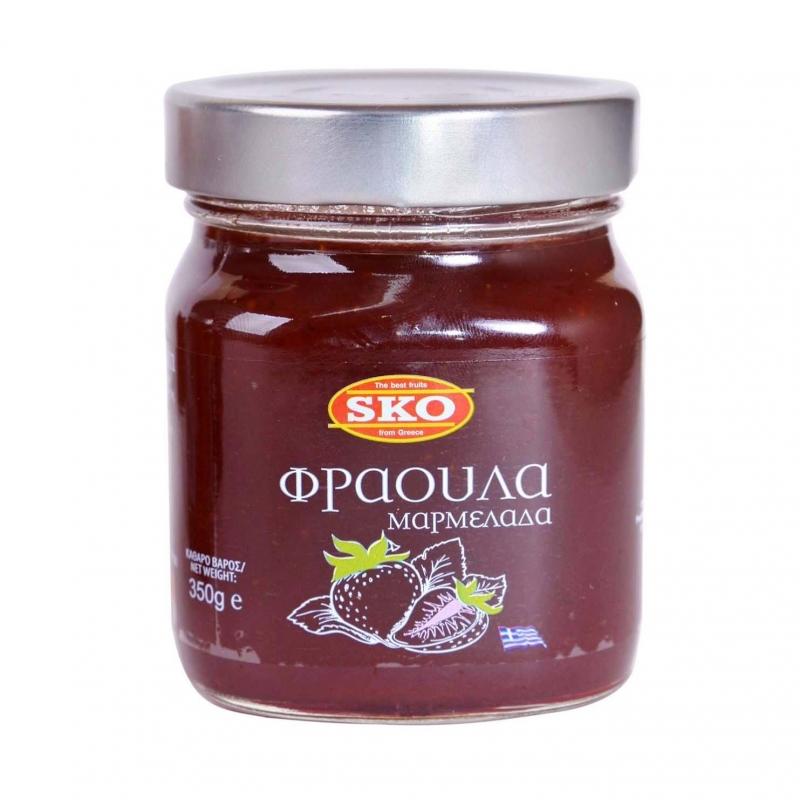 SKO Конфитюр из клубники 350 гр