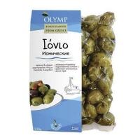 Оливки OLYMP Ионические апельсин и травы 500 гр