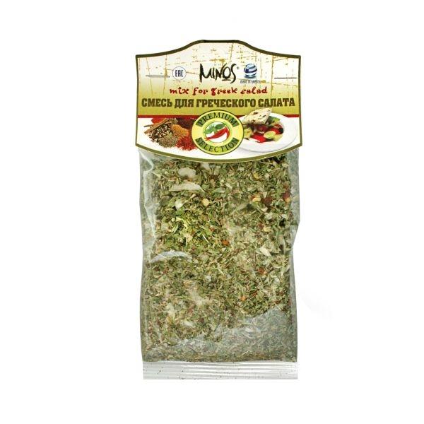Смесь пряностей для  греческого салата MINOS 40 гр