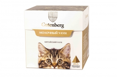 Чай в пирамидке Gutenberg Молочный улун 70 г