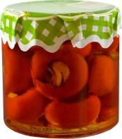 Ellatika красный сладкий перец, фаршированный осьминогами в масле 210 г